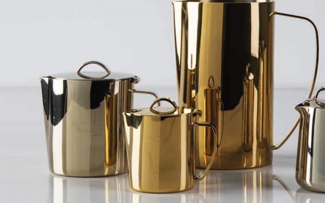 Arthur Krupp noviteiten 2021: placemats, Tribal serie, Gold & champagne