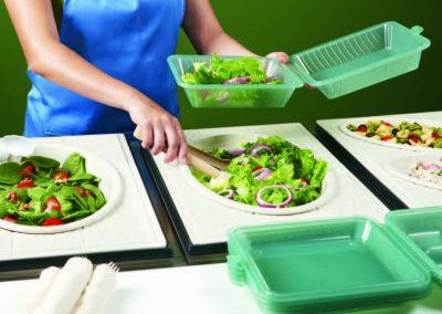 Eco-Takeouts verpakkingsmaterialen