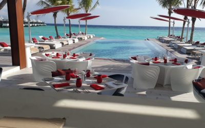 Opening LUX* North Male Atoll resort, Malediven