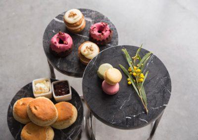 Craster - Marmeren buffetplateaus donkergrijs
