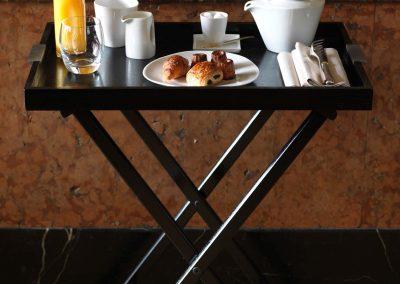 Craster - plateau ontbijtpresentatie roomservice