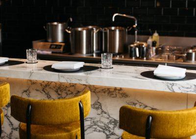Maatwerk placemats en onderzetters voor restaurant Onglet in Maastricht