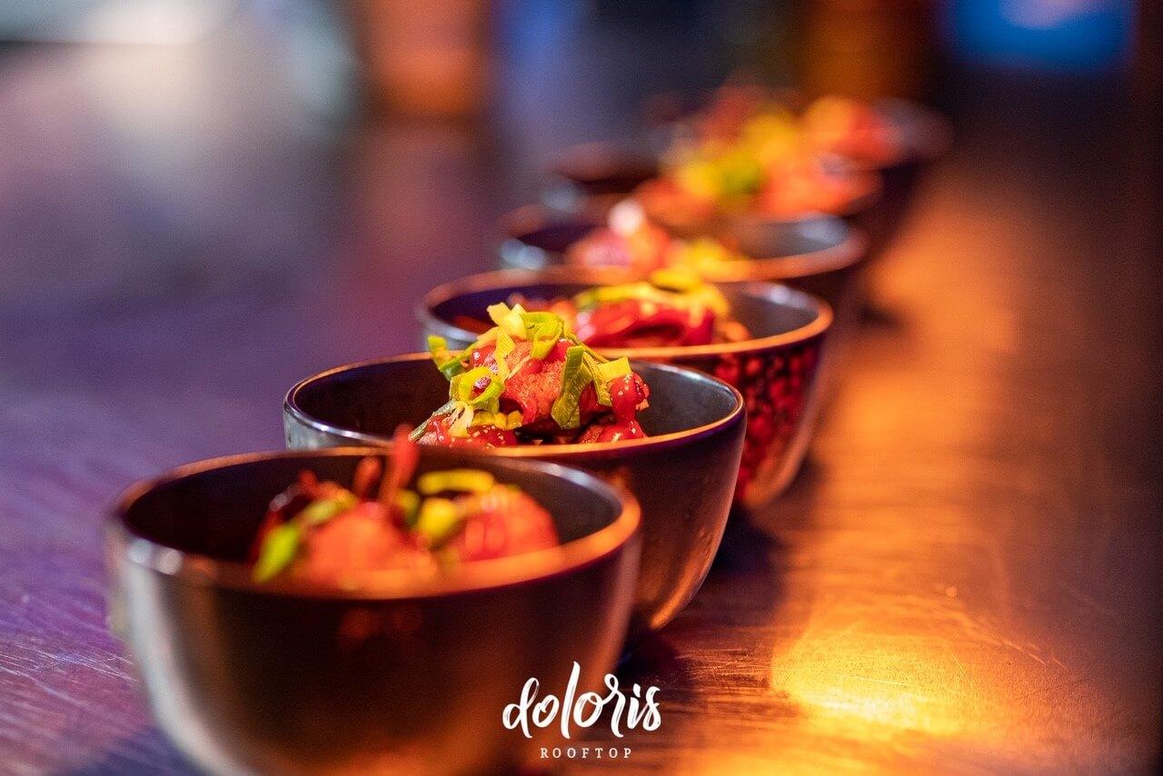 servies restaurant Doloris tilburg