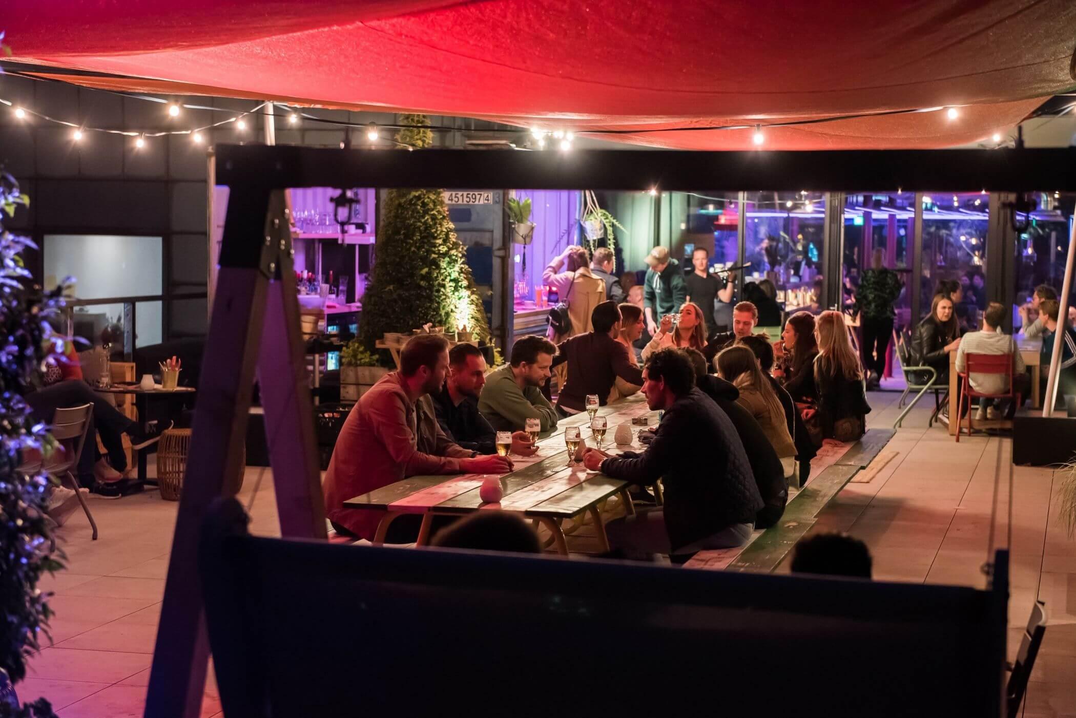 Tilburg - Doloris rooftop sfeerimpressie