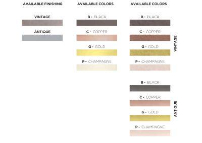 Sambonet-bestek-special-finishes-kleuren