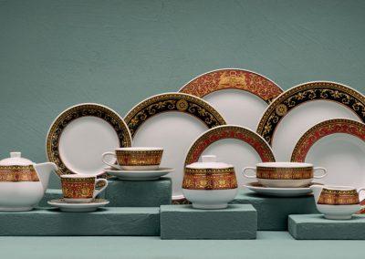 Rosethal meets Versace porselein collectie