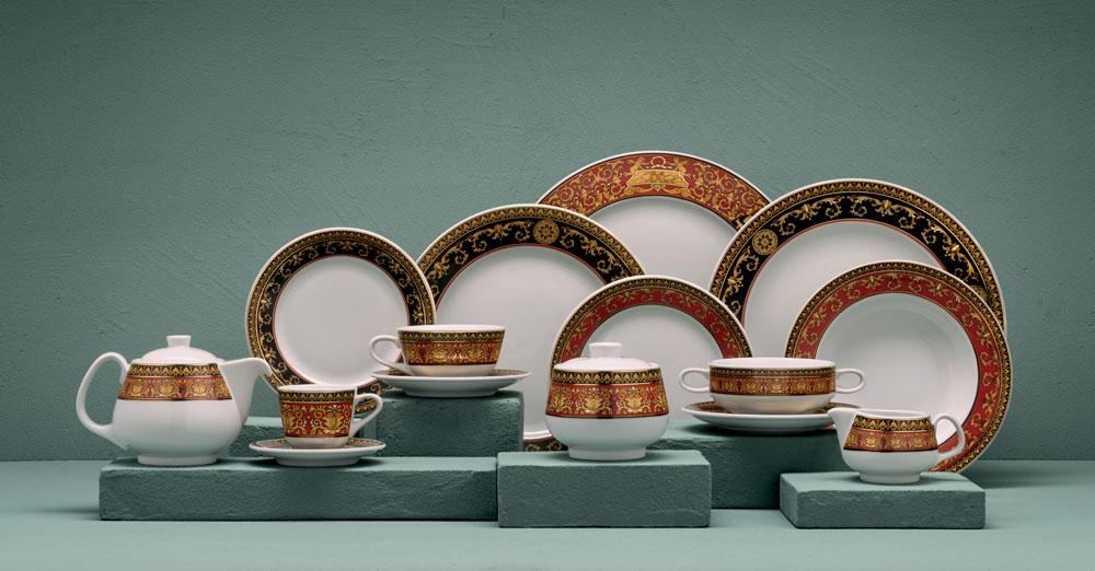 Uitgelezene Versace porselein - Rosenthal meets Versace - Mettre a Table CQ-52
