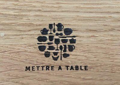 Mettre a Table maatwerk - ontbijtbox-brandmerk