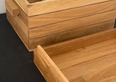 maatwerk houten kist voor de horeca