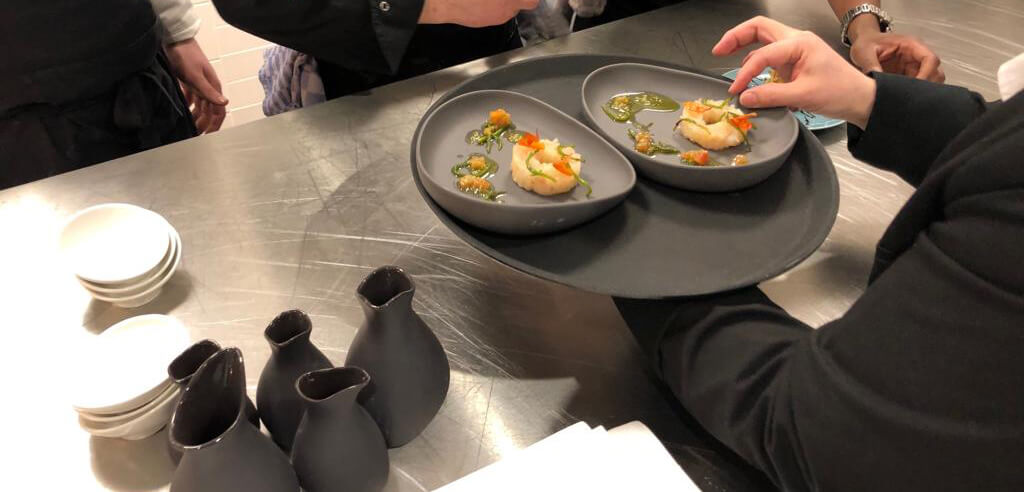 Mettre a Table bij Marriott's Black Box Competition
